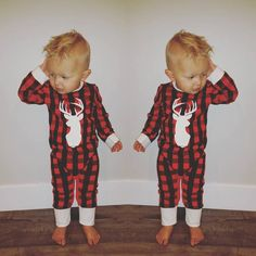 Trendy Christmas Jammies for little children