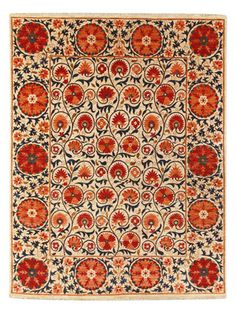 """Suzani Hand-Knotted Rug (8'x10'4"""") by nuLOOM on Gilt Home  ($10,759.00)  $3,799.00"""