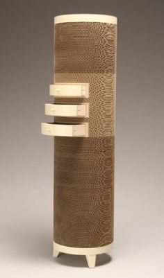Jason Schneider - Recycled Cardboards turned into beautiful spinning furnitures