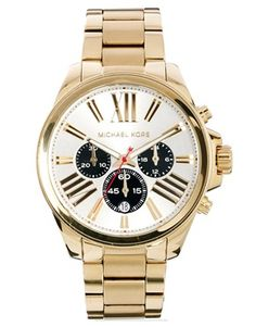 Michael Kors Wren Gold Watch