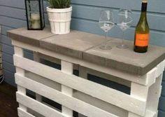 Pallet Bar Table DIY Quick Video Instructions