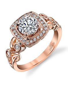 Parade Design Style R3170 from The Lyria Collection Engagement Ring - The Knot