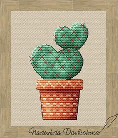 Funny Embroidery, Embroidery Designs, Cactus Flower, Amazing Flowers, Couture, Flower Designs, Needlepoint, Cross Stitch Patterns, Elsa