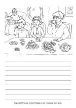 Enjoy these Grandparents' Day printables, including Grandparents' Day cards to print, bookmarks, writing pages and mini booklets. Kids can give their favourite Grandma and Grandpa something special! Hindi Worksheets, Shapes Worksheets, 2nd Grade Worksheets, Grammar Worksheets, Preschool Worksheets, Creative Writing Worksheets, English Creative Writing, English Writing Skills, English Vocabulary