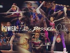 Power. Poise. Passion. Pride.