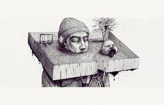 Slava Triptih illustrations