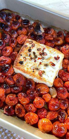 Pasta Recipes, New Recipes, Vegetarian Recipes, Cooking Recipes, Favorite Recipes, Healthy Recipes, Yummy Recipes, Dinner Recipes, Cherry Tomato Pasta