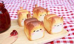 Warmly 'Baked' Breadcat | Bored Panda | kawai | Pinterest