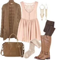 """Cute Fall Outfit"" by natihasi on Polyvore"