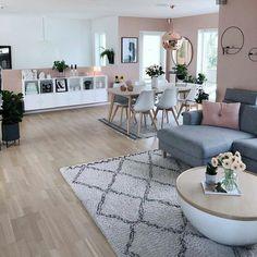 Gorgeous Scandinavian Living Room Design Ideas – - Decoration For Home Casual Living Rooms, Home Living Room, Apartment Living, Living Room Designs, Living Room Decor, Modern Living, Small Living, Bedroom Decor, Wall Decor