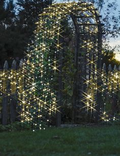 Solar Powered String Lights | Buy from Gardener's Supply