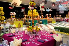 33 Ideas for 'Alice in Wonderland'-Themed Events. Love when we get the opportunity to do creative out-of-the-box events!