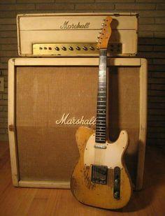 Vintage Fender Telecaster & Marshall