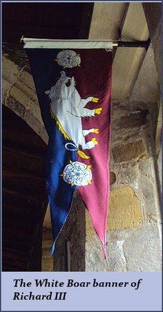 The last of England's line of Plantagenets Richard III, 2nd October, 1452.   Goes with the Hampshire Hog that I am....Born & Bred.
