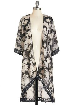 1920s fashion scarf coat - Outpouring of Love Jacket