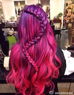 Purple Snake Braid from Fashion Geek