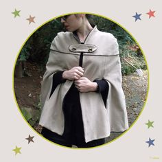 Gorgeous cape and free pattern (in french)