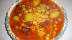 Platos Latinos, Blog de Recetas, Receta de Cocina Tipica, Comida Tipica, Postres Latinos: Mondongo con Garbanzos y Porotos - Comida Tipica Latina - Argentina Food