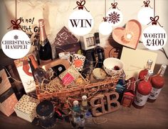 Look how our christmas hamper competition has shaped up! Enter from monday on our website only. #christmas #christmashamper #hampercompetition #competition #win #gifts #giftideas #bohobetty