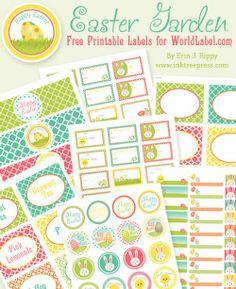 Harris Sisters GirlTalk: Free Easter Printables