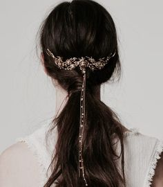 Gold hair piece, royalty aesthetic