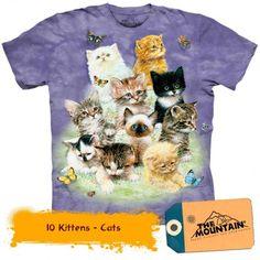 Tricouri The Mountain – Tricou 10 Kittens