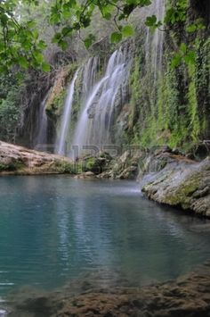 The Kurshunlu Waterfall is located 19 km from Antalya, Turkey The waterfall is situated in the forest, beautiful lake and bran...