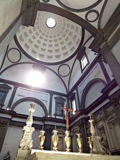 Michelangelo. New Sacristy, Medici Chapel, s. Lorenzo.  #architecture #michelangelo