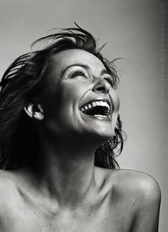 Just laughing: Photo by Photographer Ivan Mladenov Great Smiles, Good Smile, Just Smile, Beautiful Smile, Happy People Photography, Photography Women, Art Photography Portrait, Portraits, Smiling People