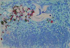 ebru sanatı ( marbling art) by Mai Hatti