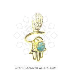Customize & Buy Hand of Fatima Fashion Bijou Rings Online at Grand Bazaar Jewelers