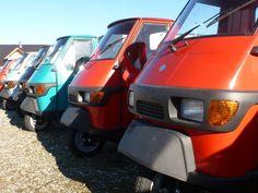 Piaggio Ape Neufahrzeuge auf dem Hof von Casa Moto in Bergatreute #Piaggio #Ape #Piaggioape #Casamoto #Casa #Moto Vehicles, Backdrops, Photo Illustration, Cars, Vehicle, Tools