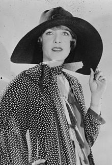 """Claire Windsor (14 Apr 1892 - 24 Oct 1972) - American silent film actress born Clara Viola Cronk in Kansas. She secretly married in 1914 and had a son in 1916, but her husband filed for divorce in 1920. Seeking to support her son, she moved to California and found employment in movie studios receiving bit parts before being spotted by an influential director. She was named a WAMPAS Baby Star in 1922. She became an fashion trend setter in the 20s. She was unable to transition to """"talkies""""."""