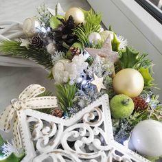 Pierwszy wianek😊 będzie więcej!☺ ktoś chętny??🌲☆❆❄#wianek#bozenarodzenie#decor#homedecor#handmade
