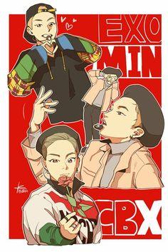 Minseok Fanart ♡