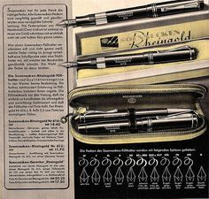 Soennecken fountain pen catalog. Bonn, Germany, 1937.