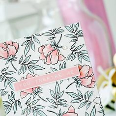 Oh how I love @altenewllc stamps! Sharing a closer look at the newest Peony Bouquet set on Altenew blog #cardmaking #handmadecard #altenew #stamping