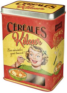 Amazon.co.jp: Natives シリアル缶 Céréales Kileur 211138: ホーム&キッチン
