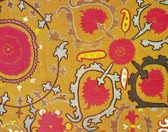 The Textile Blog: Uzbek Embroidery