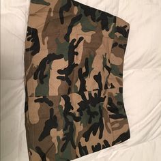 Army camouflage mini skirt by funhouse This army camo mini skirt is super cute!. no returns excepted Funhouse Skirts Mini