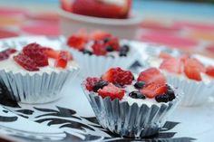 No Bake Fruity Pies