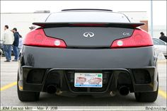 infinity g35 image custome | Infiniti G35 Coupe with custom rear bumper - BenLevy.com