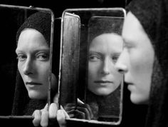 """ Fabio Lavino, Portrait of Tilda Swinton, 1999 """