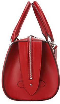 Red we love, the favorites of StoresConnect.nl, be inspired!   Alexander Mcqueen Heroine Bowling in Red | Lyst