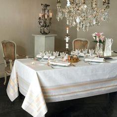 【撥水GS】テーブルクロス ギャルリーデグラス鏡の回廊