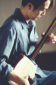 Japanese instrument, Shamisen 三味線