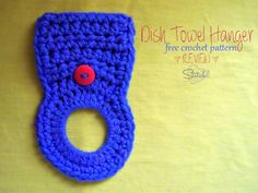 Dish Towel Hanger – Free Crochet Pattern Review