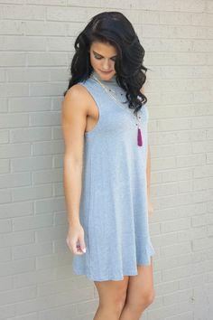 Make Your Mock Dress- Gray