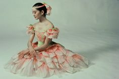 The Joffrey Ballet - Throwback Thursday to Kim Sagami in Waltz of the Flowers Photo by Herbert Migdoll.