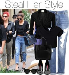 """Steal Her Style: Selena Gomez"" by empaige1001 on Polyvore"